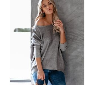 LYNETTE Dolman Sleeve Sweater